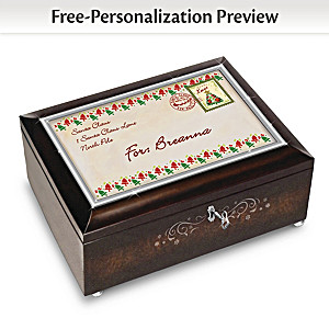 Letter From Santa & Music Box Personalized With Child's Name