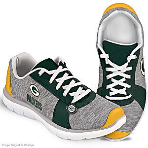Winning Style Green Bay Packers Women's Shoes
