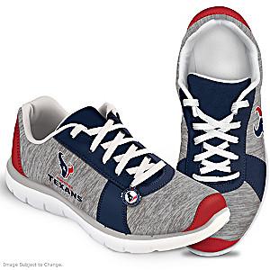 Winning Style Houston Texans Women's Shoes