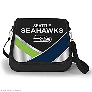 Seattle Seahawks Interchangeable Flap Handbag