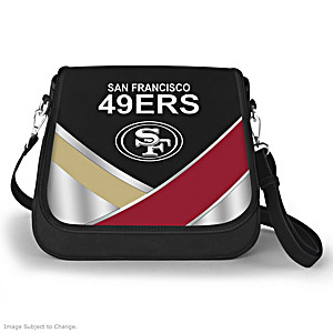 San Francisco 49ers Interchangeable Flap Handbag