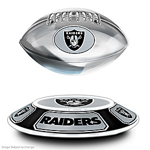 Raiders Levitating Football Floats, Spins And Lights Up