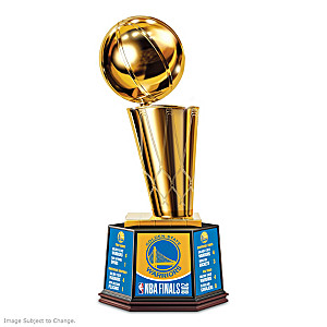 Golden State Warriors 2018 NBA Finals Trophy
