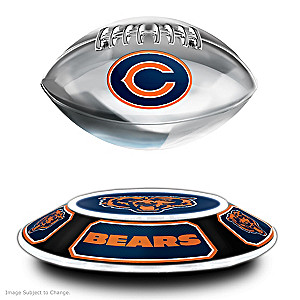 Bears Levitating Football Lights Up And Spins