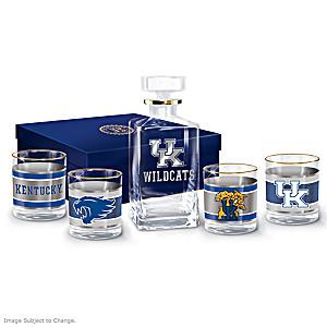 Kentucky Wildcats Five-Piece Glassware Set