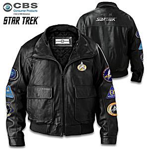 Star Trek: The Next Generation Men's Leather Jacket