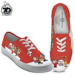 "PEANUTS ""A Charlie Brown Christmas"" Women's Sneakers"