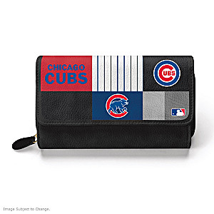 Cubs For The Love Of The Game Wallet With Team Logos