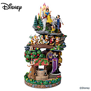 Snow White And The Seven Dwarfs Masterpiece Sculpture