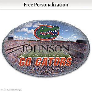 University Of Florida Outdoor Welcome Sign With Name