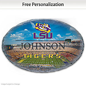 LSU Tigers Outdoor Welcome Sign With Name
