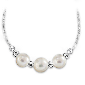 """Generations Of Love"" Cultured Freshwater Pearl Necklace"