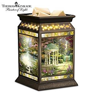 "Thomas Kinkade ""Serenity Garden"" Illuminated Wax Warmer"