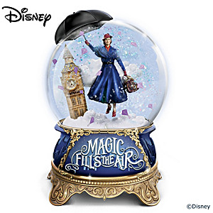 "Disney ""Mary Poppins Returns"" Musical Glitter Globe"