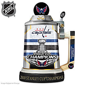 Capitals® 2018 Stanley Cup® Porcelain Stein