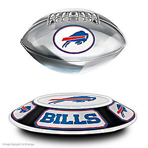 Bills Levitating Football Lights Up And Spins