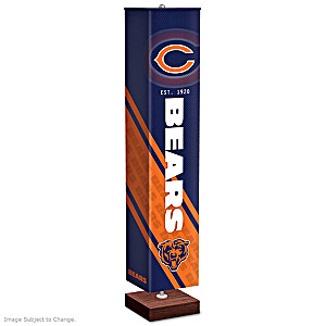 Chicago Bears Four-Sided Floor Lamp