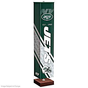 New York Jets Four-Sided Floor Lamp