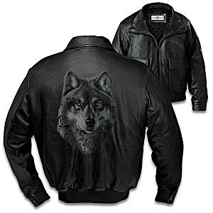 Spirit Of The Wild Men's Leather Jacket