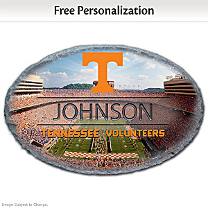 University Of Tennessee Outdoor Welcome Sign With Name