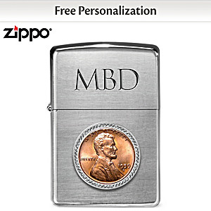 Personalized Zippo® Lighter With Your Birth-Year Penny