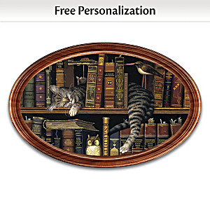 "Charles Wysocki ""Classic Tails"" Personalized Collector Plate"