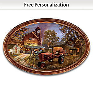 Allis-Chalmers Collector Plate With Your Family Name