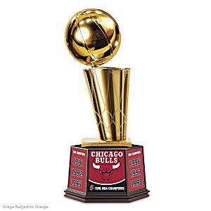 Chicago Bulls NBA Finals Trophy Sculpture