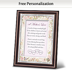 """A Mother's Love"" Framed Personalized Poem"