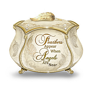Heaven Sent Heirloom Porcelain Music Box