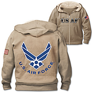 Military Pride Air Force Men's Hoodie