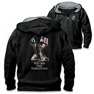 Never Forgotten Men's POW-MIA  Hoodie