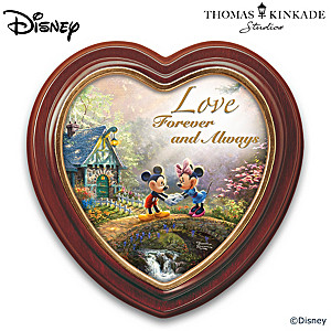 "Disney Thomas Kinkade ""Sweetheart Bridge"" Wall Decor"