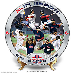 Boston Red Sox 2018 World Series Commemorative Plate