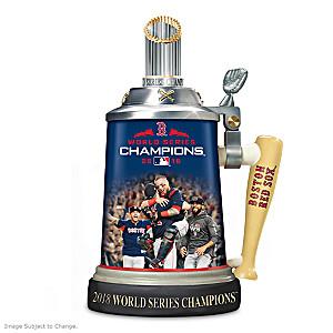 Boston Red Sox 2018 World Series Commemorative Stein