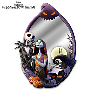The Nightmare Before Christmas Sculpted Mirror