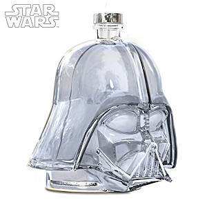 STAR WARS Darth Vader Helmet Glass Decanter