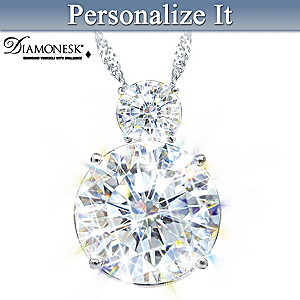 Eterna Diamonesk Pendant Necklace Personalized For Daughter