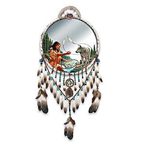 Sacred Spirits Dreamcatcher Mirror