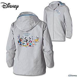 Mickey Mouse And Friends Women's Lightweight Jacket