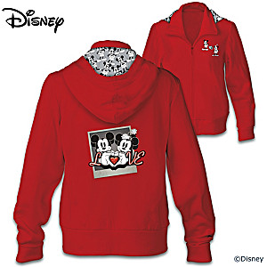 From Disney: Love Always Women's Hoodie
