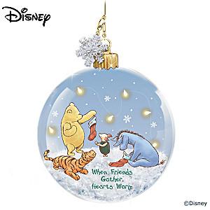 Illuminated Disney Winnie The Pooh Ornament