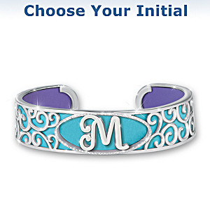 """""""Personally Yours"""" Initial Bracelet With 5 Different Looks"""