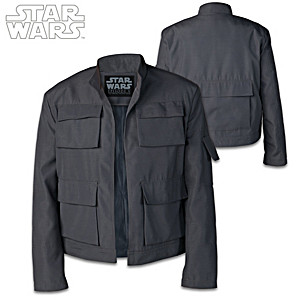 STAR WARS Han Solo Jacket Featuring Episodic Title Patch