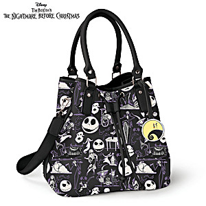 The Nightmare Before Christmas Bucket Handbag