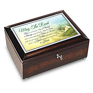 "Edmund Sullivan ""Irish Blessings"" Heirloom Music Box"