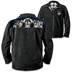 Guardians Of The Night Men's Reversible Jacket