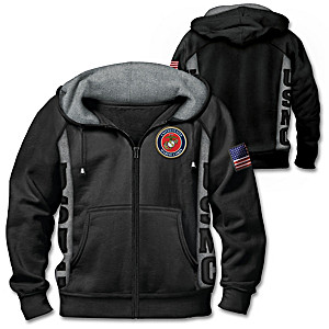 True To The Corps Marine Corps Men's Hoodie