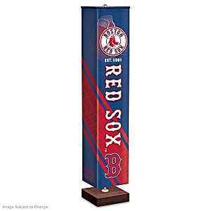 Red Sox 5-Foot Floor Lamp With Hands-Free Switch