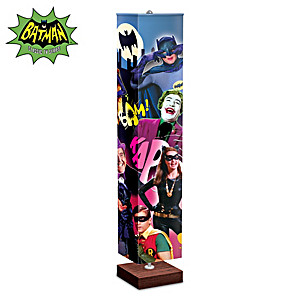 BATMAN Floor Lamp With Colorful Graphics From The TV Series